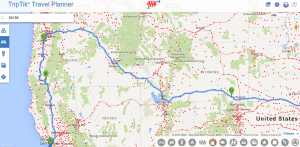 general trip plan for drive across the country 2015