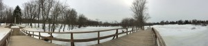 Panoramic from the Old North Bridge, Concord MA