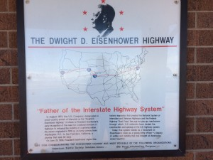 Interesting information on the interstate system - while I was aware this was something that Eisenhower pushed through, I thought it was more influenced by the Germany Autobahns and the need for ad-hoc runways in case of Soviet atom bombs - but apparently, he had been thinking along these lines for a long time...