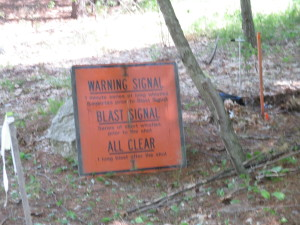 Watch the video and you see that this is clearly a needed and necessary sign!